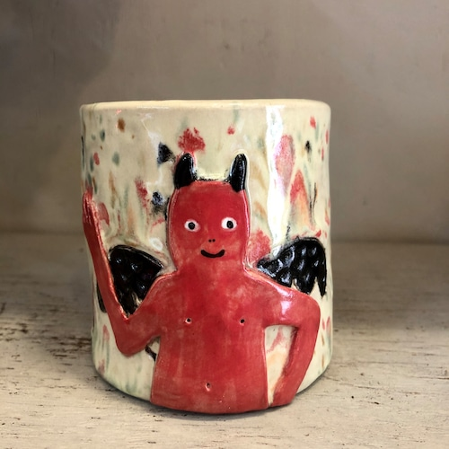 KoyomiYanagimoto Little devil 花瓶