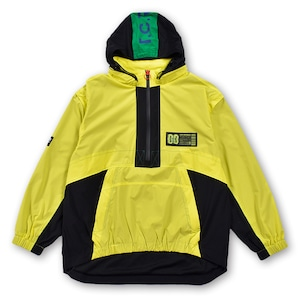 T.C.R TRICLIMATE 2WAY SHELL ANORAK V2 - YELLOW/BLACK