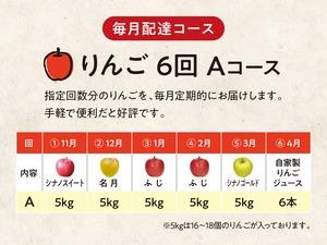 【A】りんご 6回 Aコース