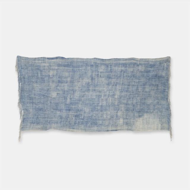 ブルキナファソ モシ族 ヴィンテージの藍染め布 古布 SLI008
