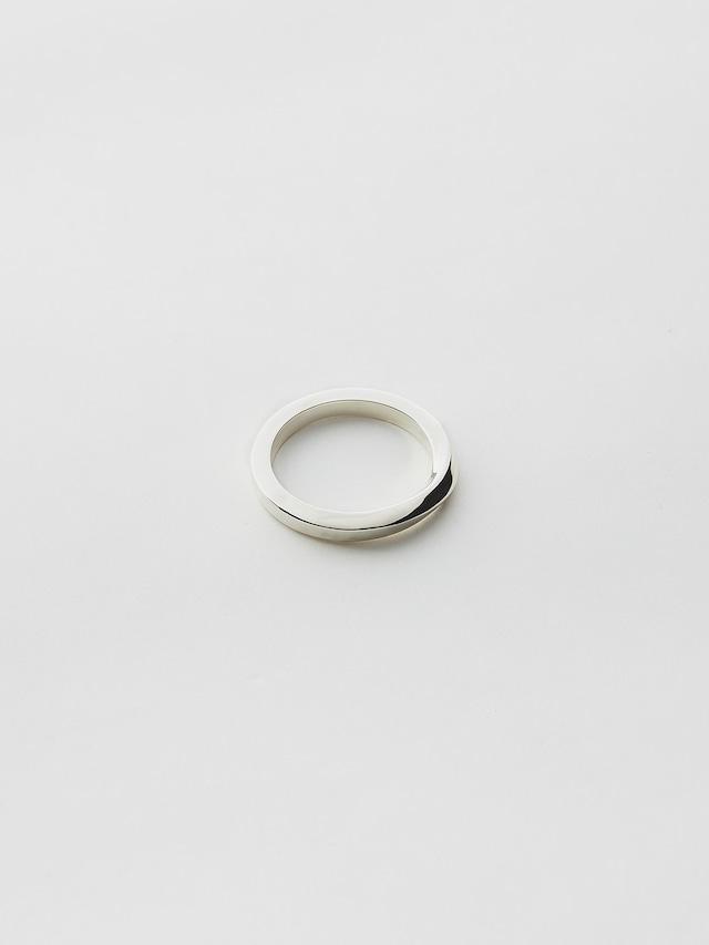 WEISS Twist Ring Silver wei-rgsv-09