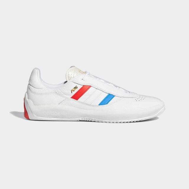 ADIDAS SKATEBOARDING PUIG WHITE/BLUE/RED