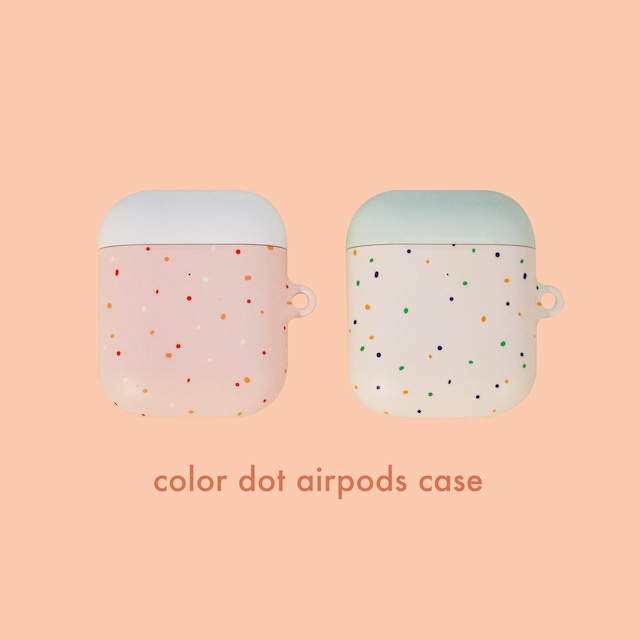 [pppstudio] color dot ハード AirPods ケース