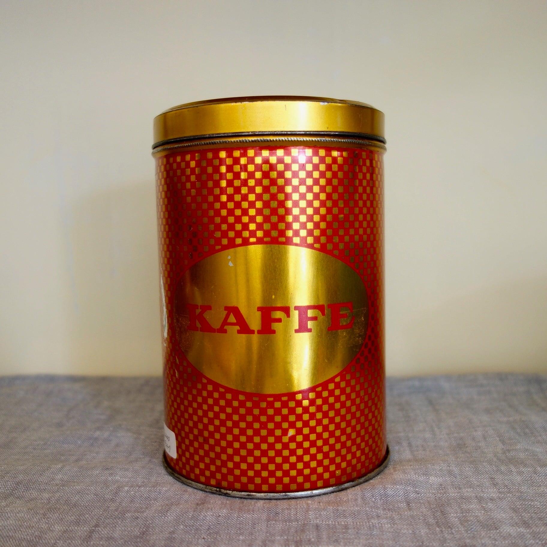 デンマークのビンテージ KAFFE can