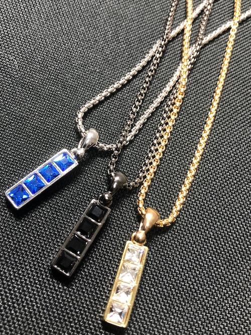 【メール便対応】ストーンプレートネックレス  プレゼント  GIFT  贈り物  小物  メンズ