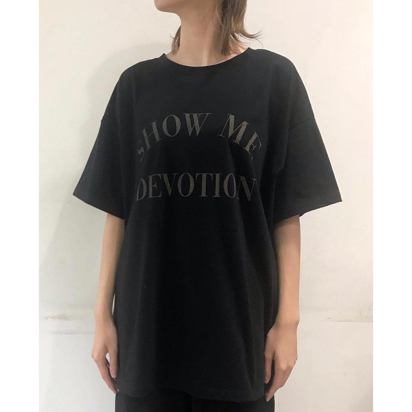 【 siro de labonte 】- R113224 - SHOW ME DEVOTION 2wayTシャツ