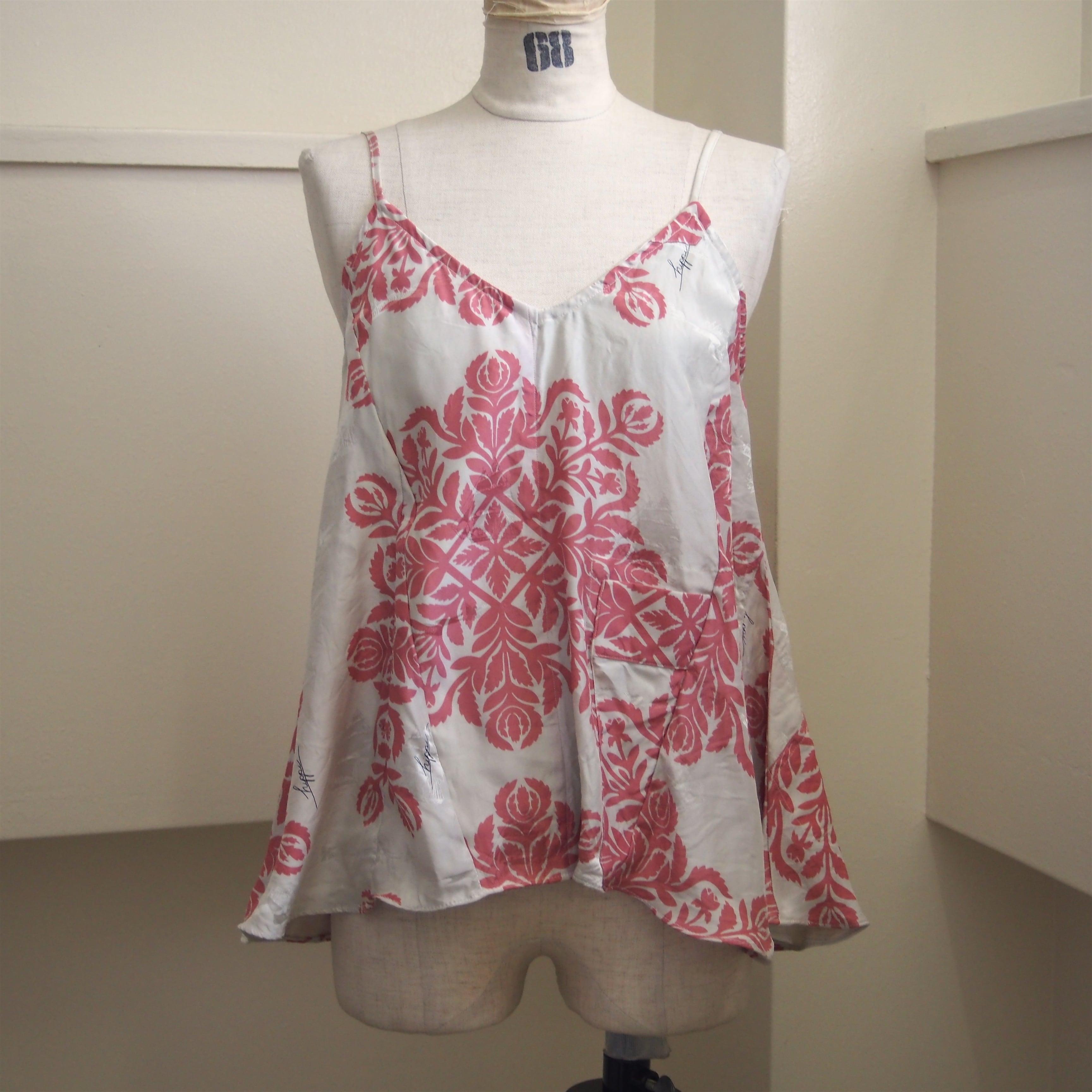 【ethical hippi】Hawaiian quilt camisole(B) / 【エシカル ヒッピ】ハワイアン キルト キャミソール(B)
