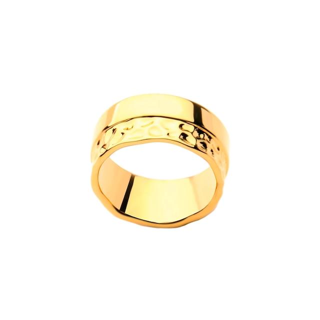 Half texture ring|リング
