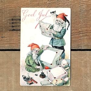 クリスマスカード「Jenny Nyström(イェニー・ニィストルム)」《200222-11》