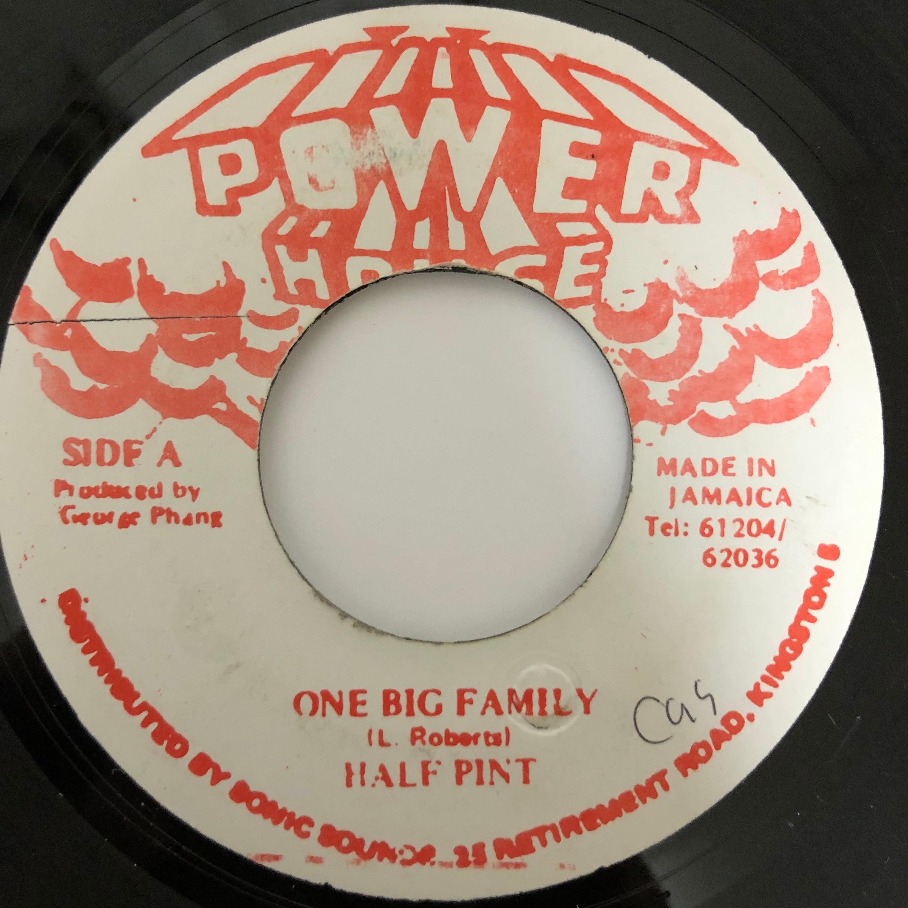 Half Pint - One Big Family【7-20405】
