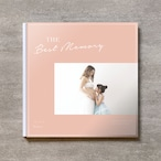 Simple pink-MATERNITY_A4スクエア_6ページ/6カット_クラシックアルバム(アクリルカバー)