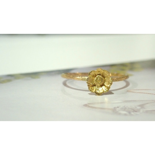 Anemone K18 Ring