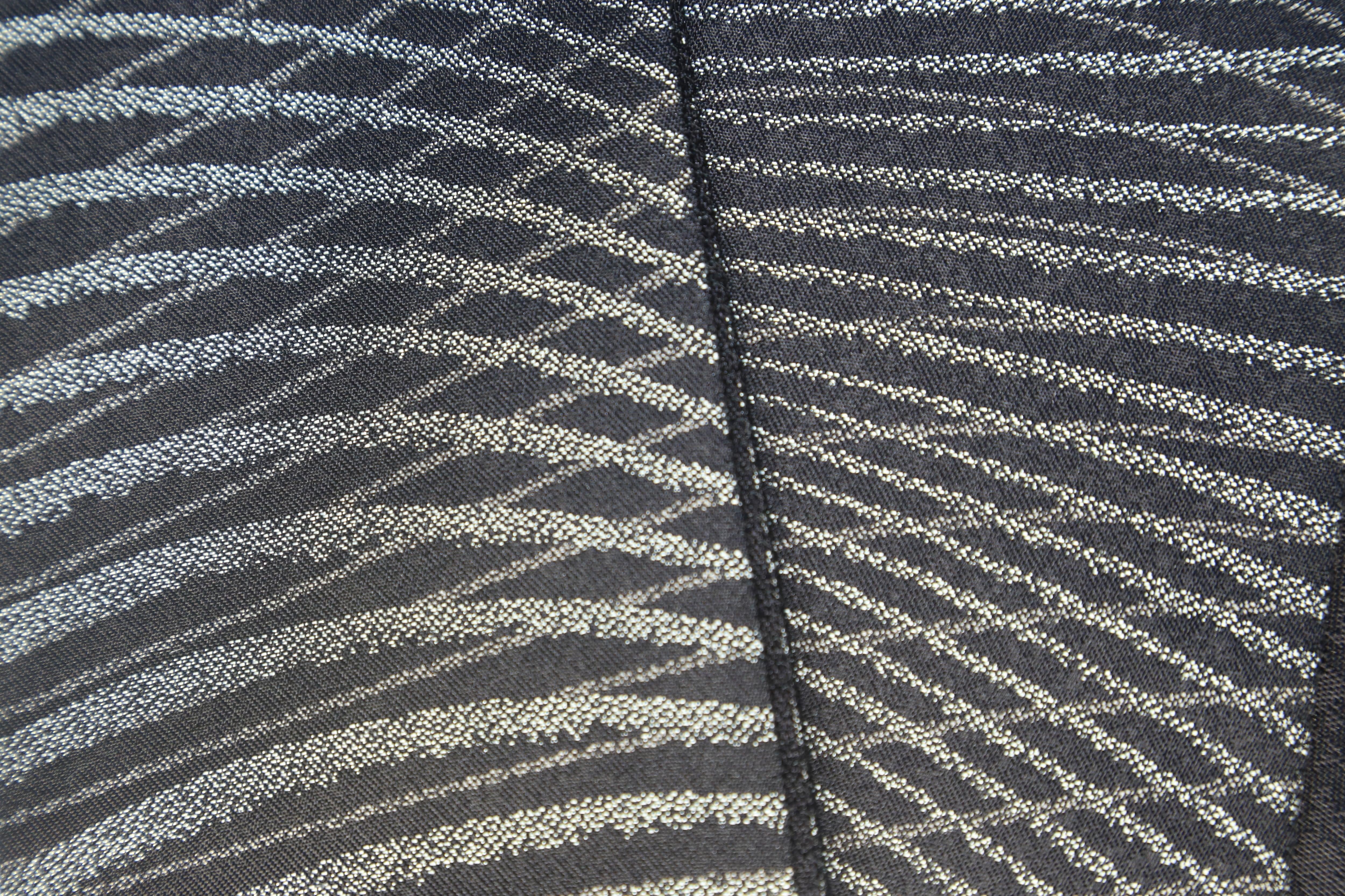 西陣織錦角帯-横波文様×梨地文様
