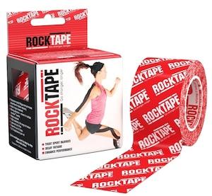 ロックテープ-スタンダード-レッドロゴ / ROCKTAPE 5cm*5m standard RED/White Logo