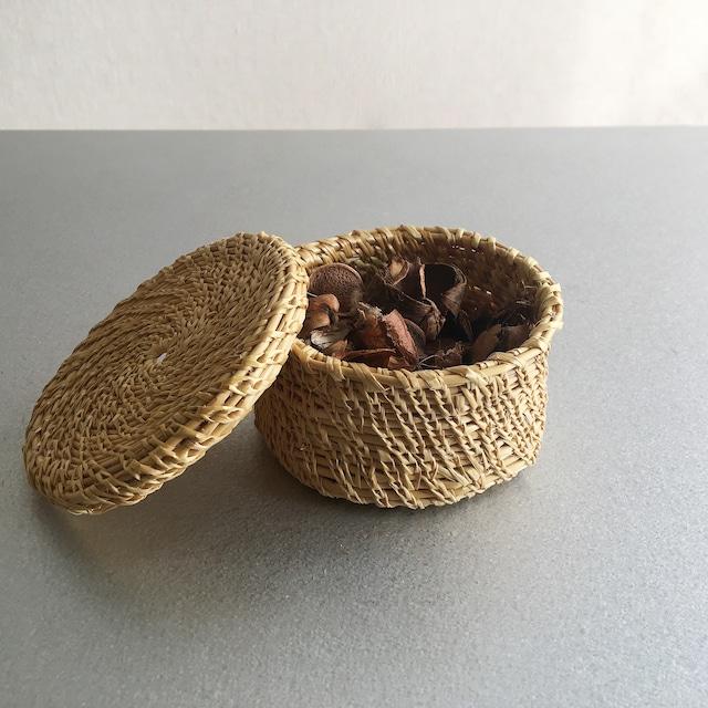 Handmade Round Basket S Size