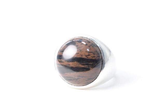 Mahogany Obsidian / Ring - Silver925