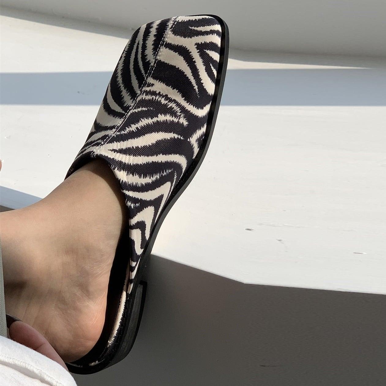 Square head slippers(スクエアヘッドスリッパ)b-100