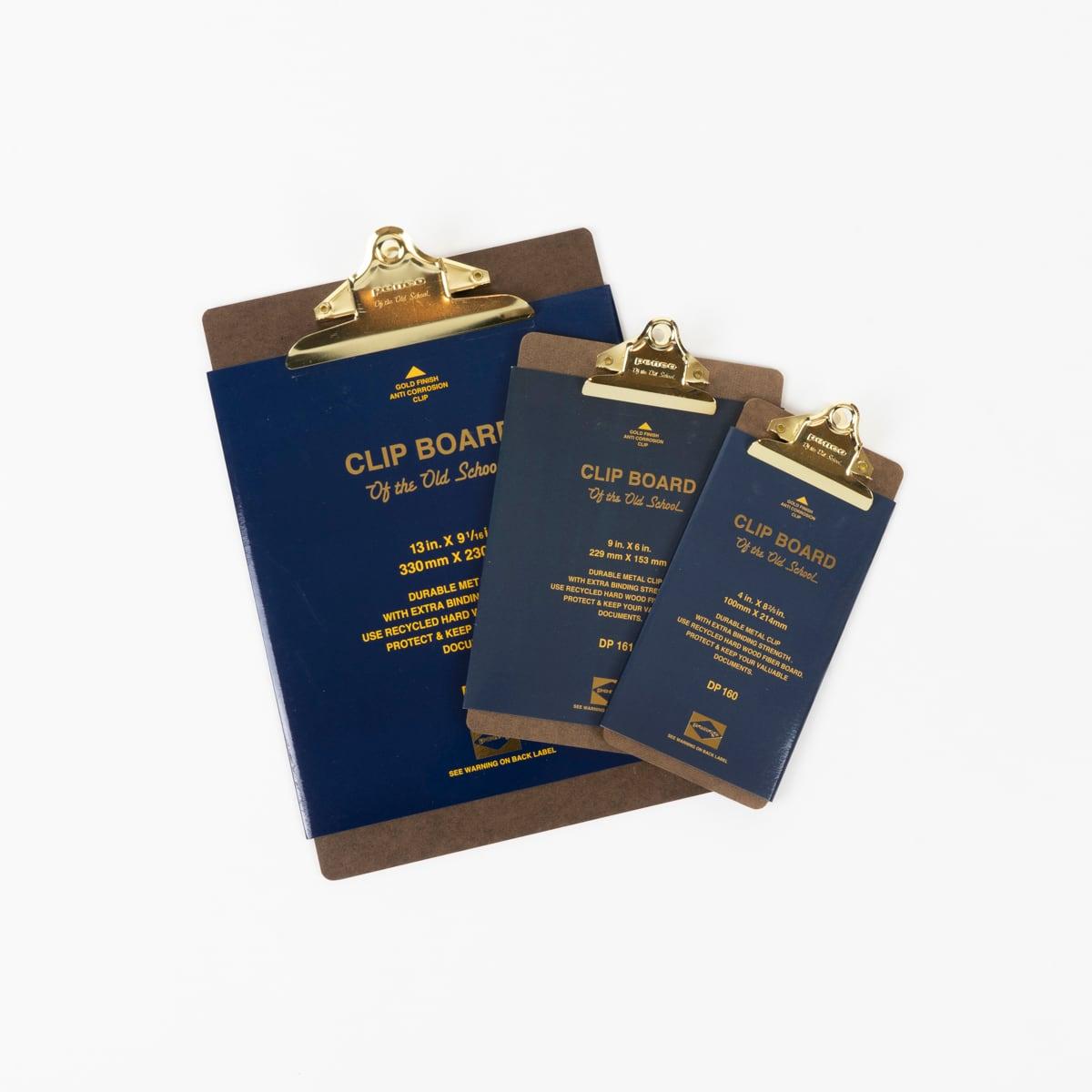 Penco Clipboard O/S Gold - Check   HIGHTIDE