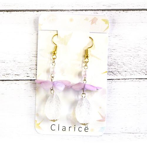 【Claricë】折り紙蝶々ピアス/ピアス