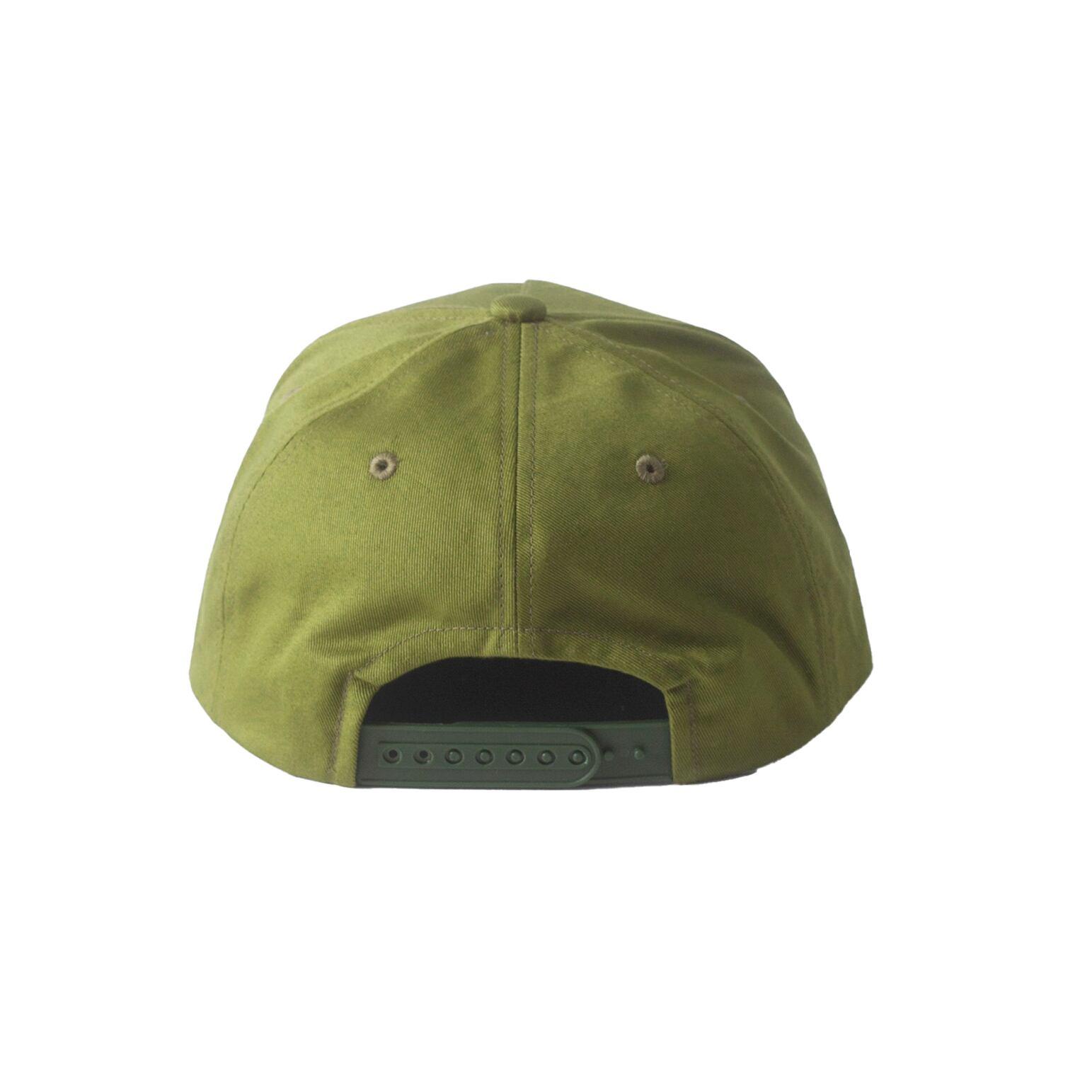 NEW COMMUNE 5 PANEL CAP / GREEN - 画像3