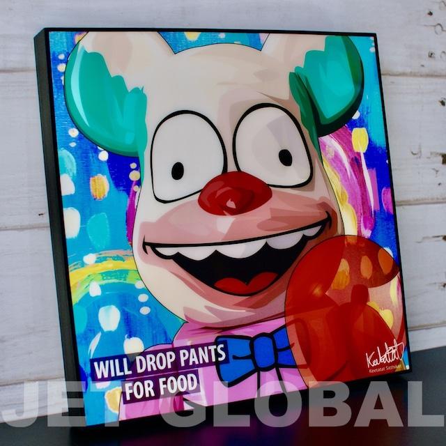 ベアブリック パンツ / BB : WIL DROP PANTS / サイズ 26cm / PAPA_BB0015