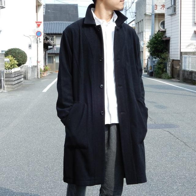 LOLO(ロロ) モッサ裏なしコート ブラック