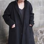 【hippiness】atelier coat (black)/【ヒッピネス】アトリエコート(ブラック)