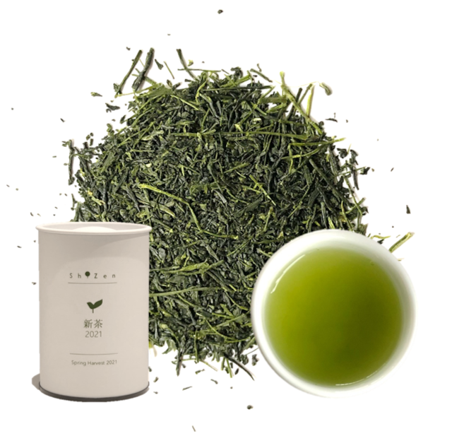 新茶2021 鹿児島県 さえみどり 50g 茶缶入