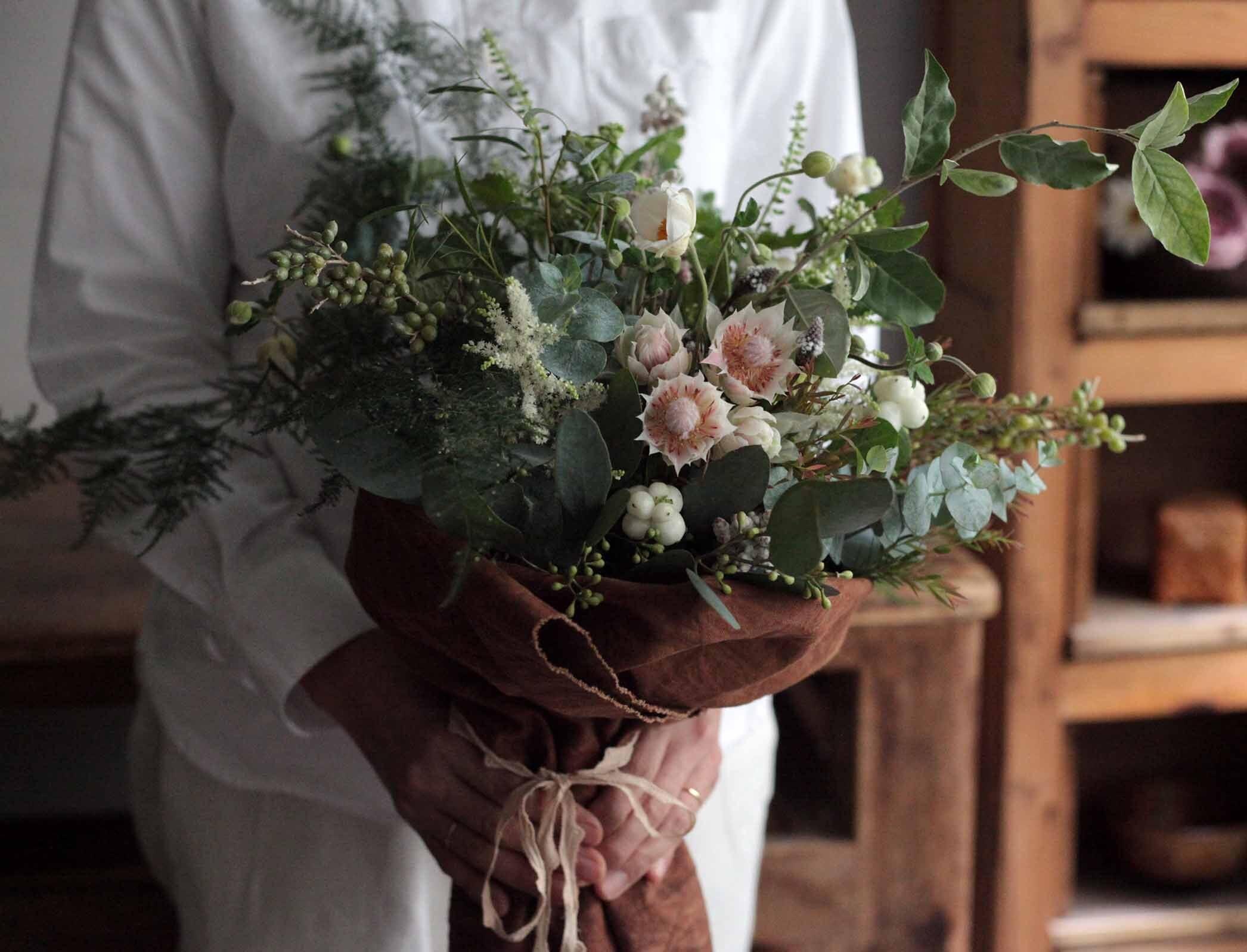 息吹の森のブーケ (Naturalgreen Bouquet)