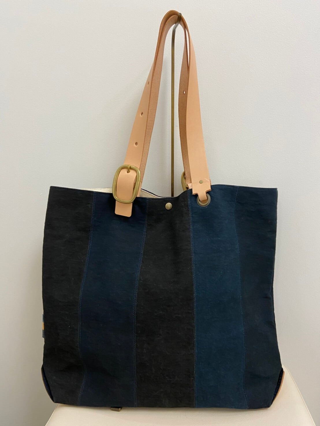 【shimaai】黒帆布クリエイターズトート