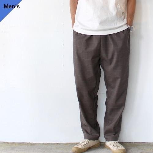 【ラスト1点】weac. RELAX PANTS   (Brown Check)