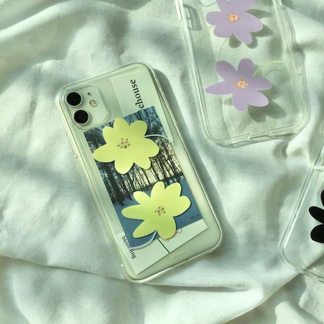 [jjehouse] jje jje  クリア iPhoneケース(全2色)