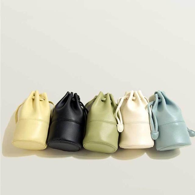 2WAY巾着バッグ | ショルダーバッグ ハンドバッグ ミニバッグ キレイめ