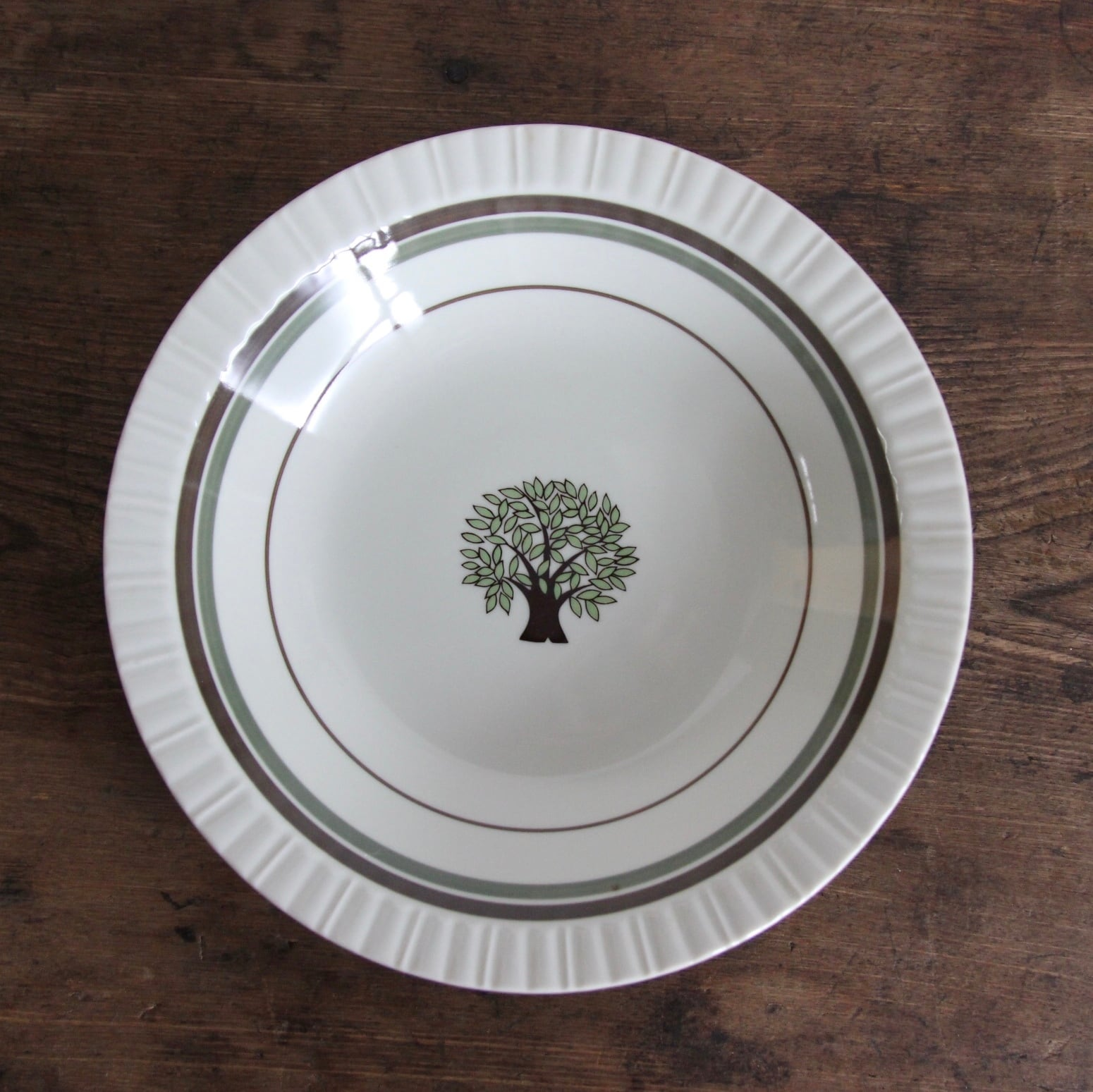 marumi ツリー柄 ボウル皿 在庫4枚