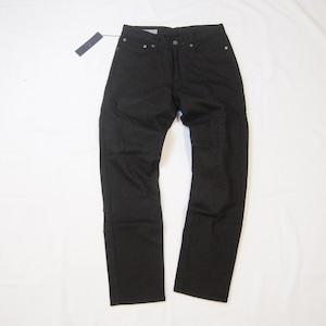 <ツムギラボ>Dead stock denim pants black dye