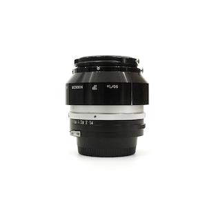 Nikon Auto NIKKOR-S 50mm F1.4