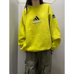 90's〜 adidas equipment 蛍光スウェット