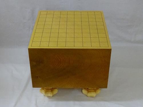 将棋盤 青森ヒバ・四方木口 6.9寸 珍重品