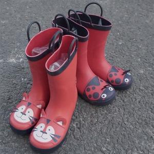 雨靴 キッズ  子供 子ども  ジュニア 長靴 男児 女児  レインブーツ 女の子 男の子 レインシューズ14cm-19.4cm 7863