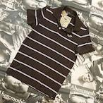 ホリスターメンズボーダーポロシャツSサイズ