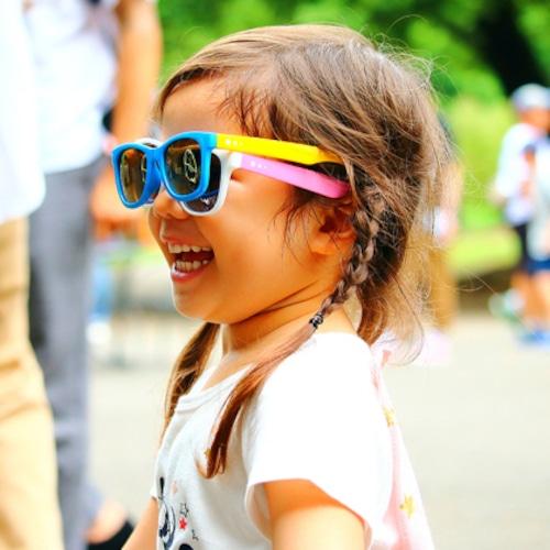 delieb FRASER シリーズ キッズサングラス(3~12歳用) 日よけ 暑さ対策 お出かけ 紫外線対策