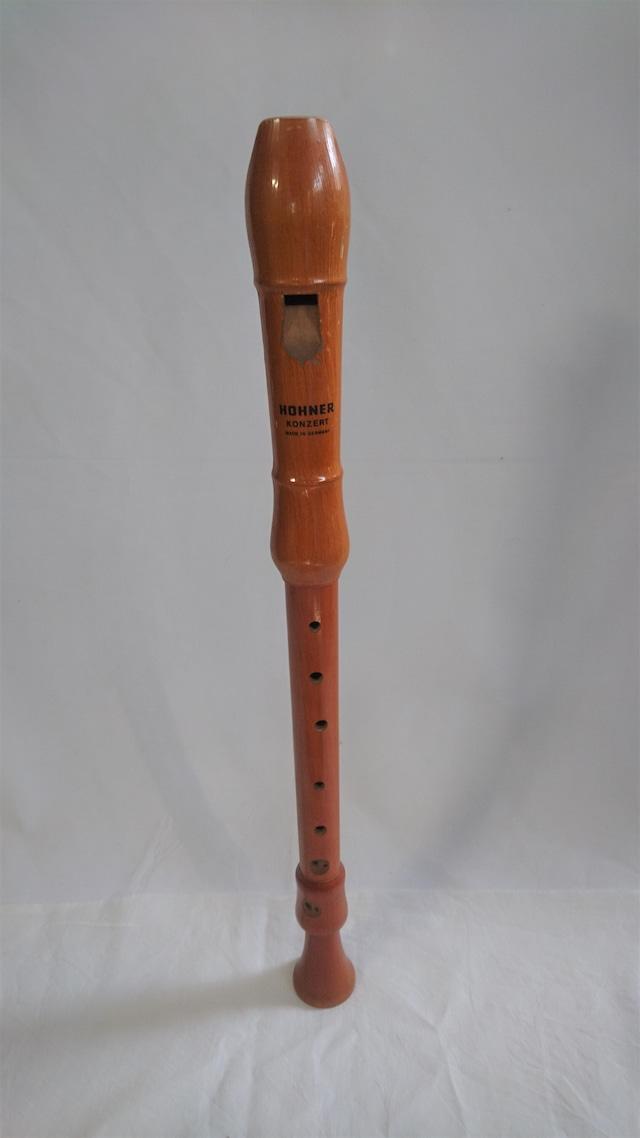 [中古]木製アルトリコーダー HOHNER