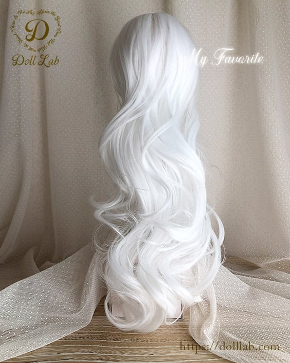 プリンセスシフォン[9~10inch]ピュアホワイト DWL007-A005-9in