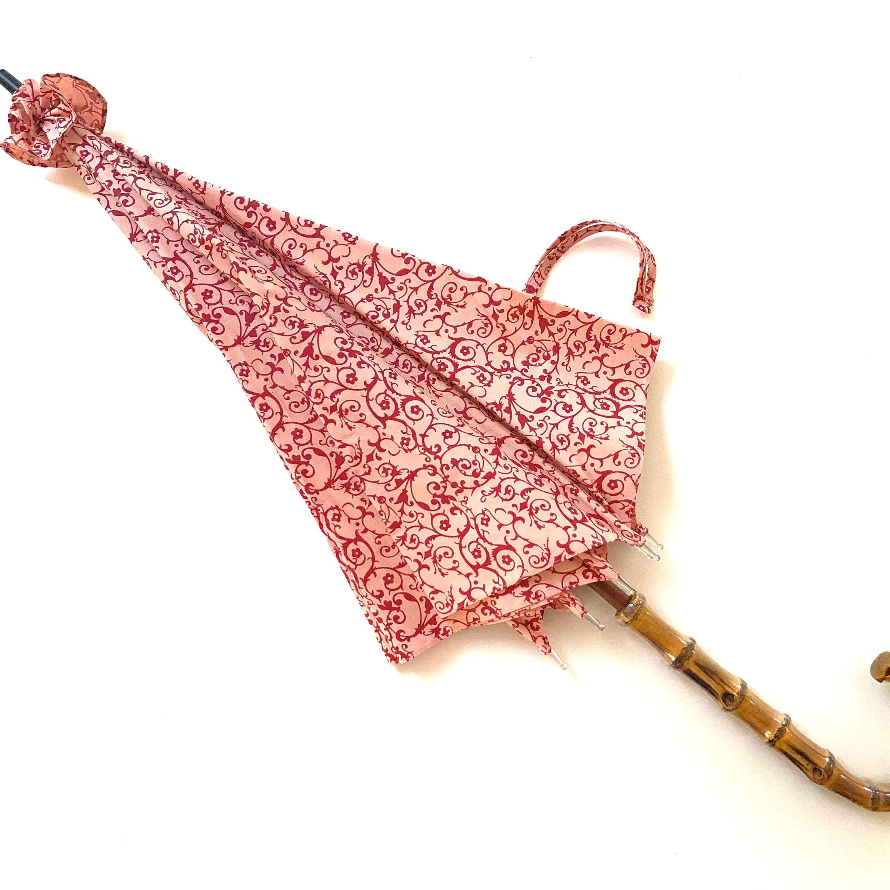 北欧デザイン日傘(晴雨兼用)  パゴダタイプ   daisy pink