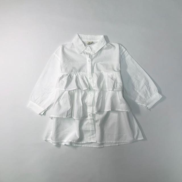 ティアードロングシャツ【T112】