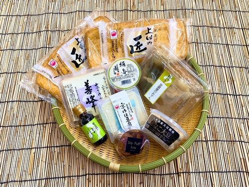 京都の冬~おでんと大豆菓子セット~