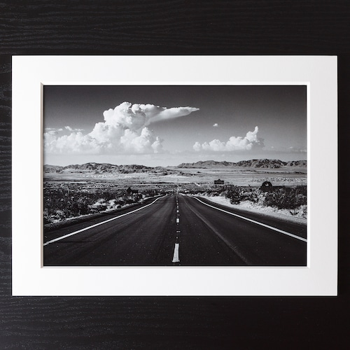 A4+α Size Paper frame「Road California」