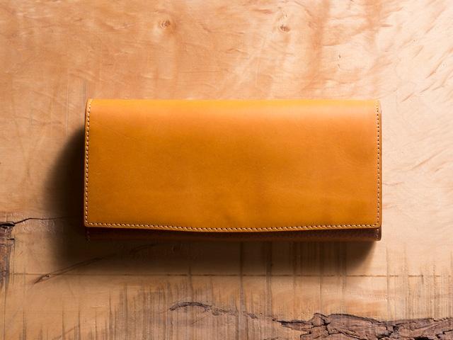 Basic Long wallet #マスタード
