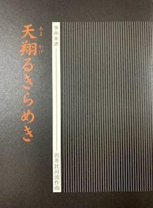 S30i94 天翔るきらめき(箏,17,尺/沢井比河流/楽譜)