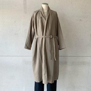 【evam eva】linen robe/E213T026